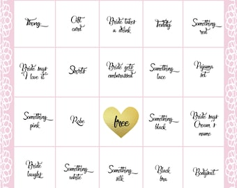 Additional (6) Lingerie Bingo Cards