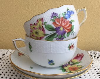 Herend of Hungary - one teacup with saucer