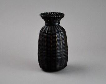 Japanese Bamboo Vase Ikebana Hanakago Wicker Vase B3