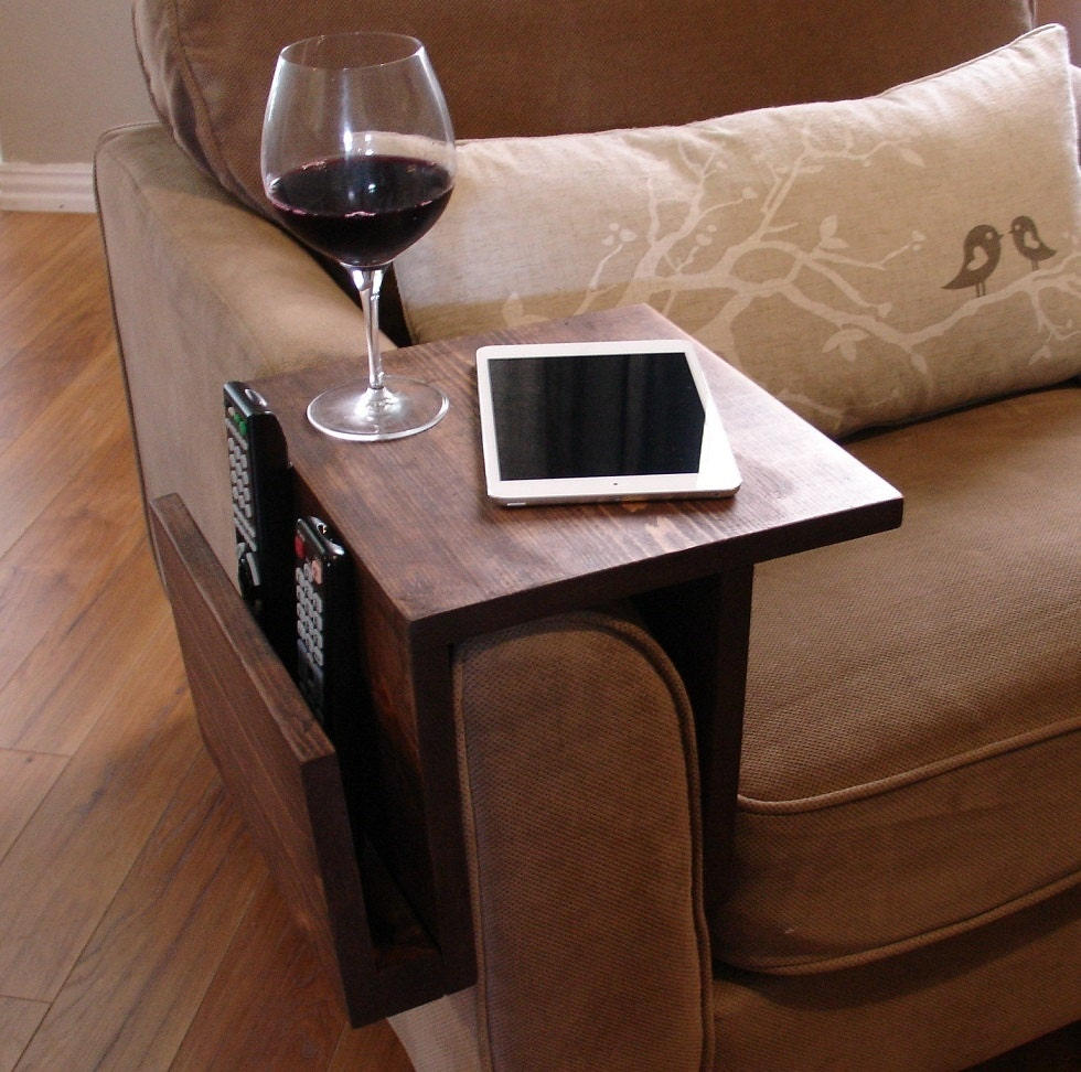 Elegant Description. Handmade Arm Rest Tray Table ...
