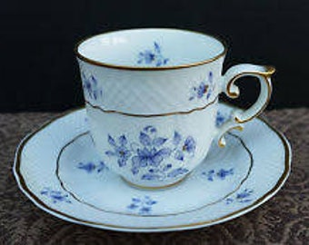 Miniature Cup and Saucer Set in