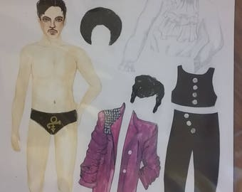 Prince Magnetic Paper Doll