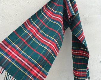 Tartan Wool Scarf