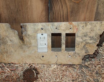 triple gfci switch plate cover