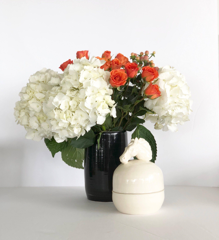 Black and white flower vase handmade wheel thrown black and white flower vase handmade wheel thrown gallery photo gallery photo gallery photo mightylinksfo