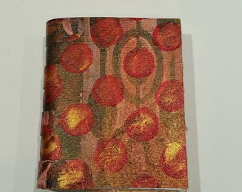 Painted Soft Cover Canvas Journal 5