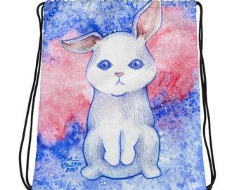 Bunny Galaxy - Drawstring bag