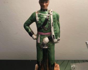 19th century Napoleonic military figurine rifle brigade