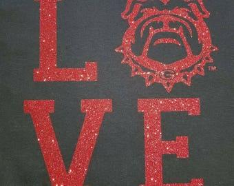 UGA Love T-Shirt