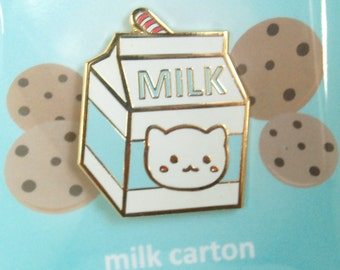 Blue Milk Carton Cat