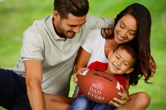 Customized Personalize Nike Football for Father's Day Gift