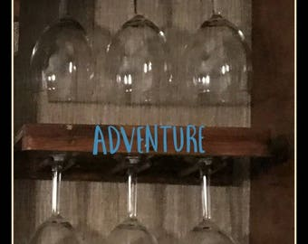 Wine Glass Rack for Campers