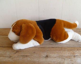 Vintage Plush Beagle Hound Dog,  Kids Preferred