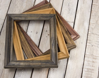 5x7 Picture Frame, 5x7 Frame, Wood 5x7 Picture Frame, 5x7 Photo Frame, Mahogany Frame, Classic, 5x7 Rustic Picture Frame, Picture Frame 5x7