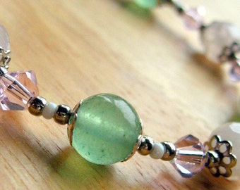 Gemstone Bracelet - A Burst of Spring - Handmade Jewelry