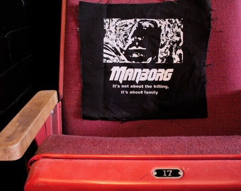 """MANBORG - Astron 6 - """"It's Not About the Killing"""" backpatch"""