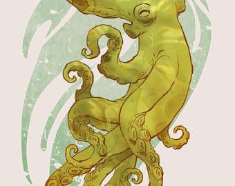 Octocity art print - various sizes