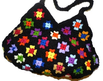 CROCHET PATTERN *BiG ShoPPer upcicled REtRO Bag* e-Book, instant download, pdf-datei, crochet bag,