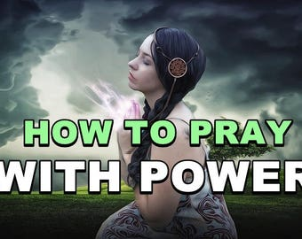 BOOK How To Pray With Power  - Life is so fast-paced these days it's easy to forget what's really important.