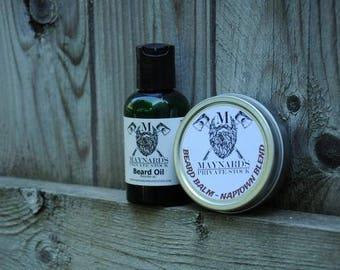 Beard Oil and Beard Balm Beard Kit - Naptown Blend (Coffee scented beard oil & beard balm) top selling items, self care, most popular items