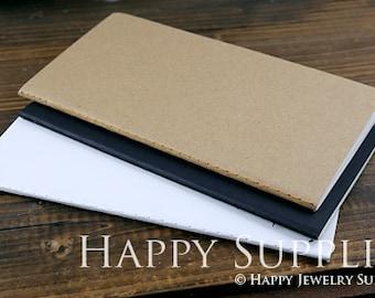 H5 (210x107mm) Pack of 5 Blank Kraft Notebooks. Wholesale / Bulk. Notepad. Sketchbook. Notebook Journal (NO LOGO or Marks on Cover)