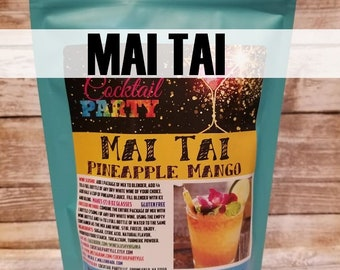 MAI TAI Wine Slush| Margarita| Cocktail Party| Wine Gift| Party Favor| Hostess Gift| Cocktail Drink| Drink Mix| Memorial Day| Foodie