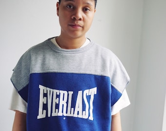 90s muscle tee/ Everlast/made in usa