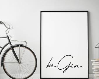 Type poster: Begin, SW