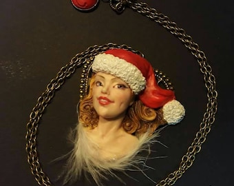 Ooak pendant necklace with commissionable Made to order