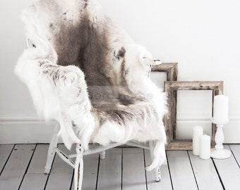 Reindeer Hide Throw & Rug - The Erva