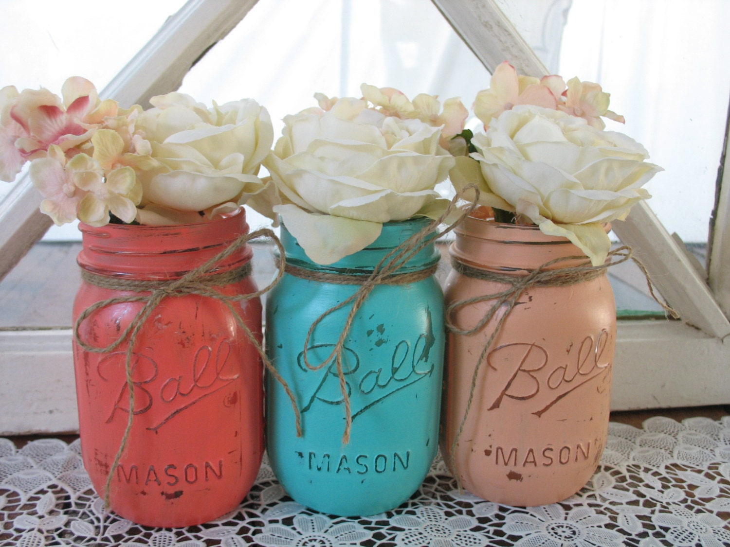 SALE 16 Pint Mason Jars Decorative Mason Jars Teacher