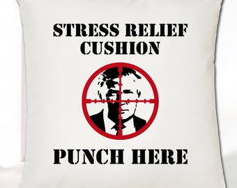 Donald Trump Cushion Cover - Stress Relief Cushion • Great Gift