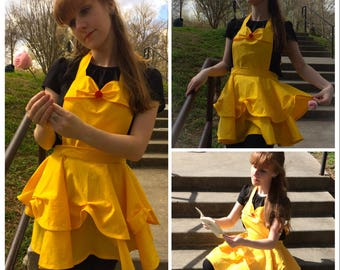 Beauty Apron- Princess Apron - Cosplay Apron- Character Apron- Princess Gift