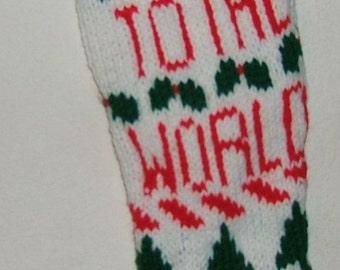 PDF Knitted Christmas Stocking Pattern