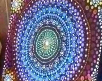 Dotillism Mandala