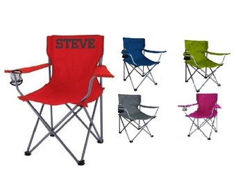 Personalized Adult Folding Chair - Camping, Tailgating, Outdoor