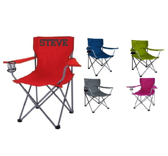 Personalized Adult Folding Chair Camping Tailgating