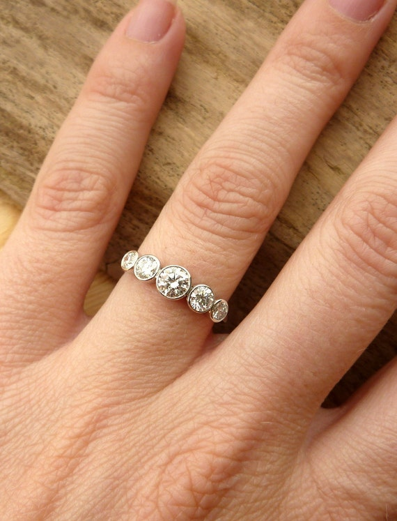 ring diamond ct or stone air product on wedding tw bands presentation band affinity