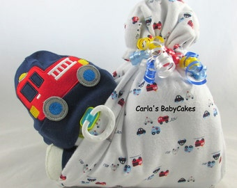 Stork bundle baby | Boy diaper cake | Stork bundle | Baby shower gift | Unique baby gift | Baby sprinkle gift | Baby Shower decoration