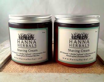 Shaving Cream - shaving aide - moisturizing shaving cream - dry skin relief