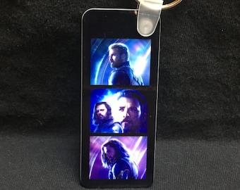 Stucky - Steve Rogers & Bucky Barnes - Avengers Infinity War Keychain