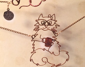 Not-Your-Average Cat Necklace