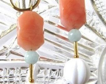 Acrylic candy earrings