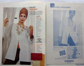 BOSS MODES & work March 2003 - Oriental TUNIC for woman