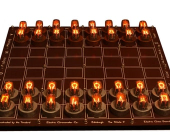 Nixie Chessboard DIY Kit, IN-15 Nixies Included