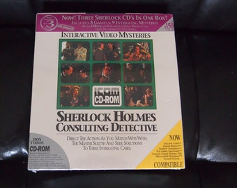 Sherlock Holmes: Consulting Detective Collection ICOM RARE 1993 PC 9 Games
