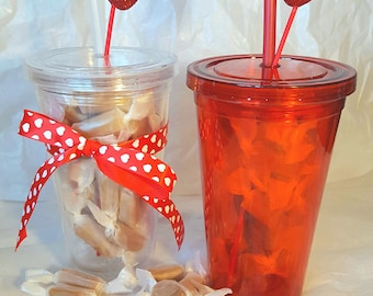 Valentine's Day Gift - Caramel Candy Tumbler