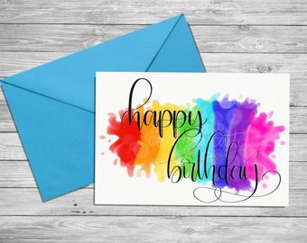 birthday card | digital print