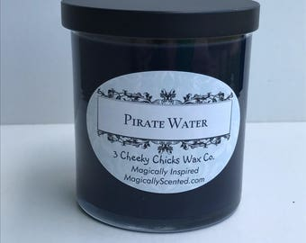 Pirate Water, Disney Scents, Pirates, Candle, Disney Inspired