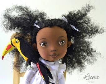 Doll, art doll, art toy, black Doll